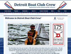 Detroit Boat Club Crew - Detroit Boat Club Crew was founded in 1839, which makes us the oldest rowing club in north America.