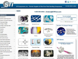 STI Components, Inc. - Ultra Pure Fluid Handling Components